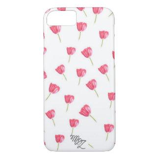 Pastel tulips iPhone 8/7 case