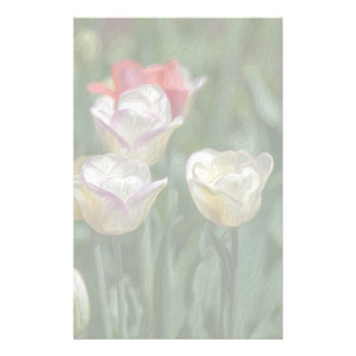 Pastel Tulips Stationery