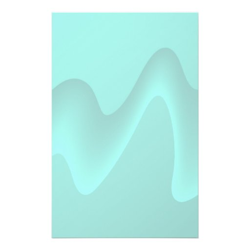 Pastel Turquoise Abstract Swirl Image. Flyer Design