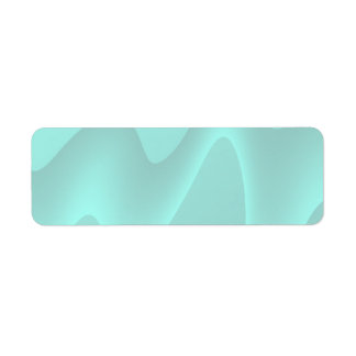 Pastel Turquoise Abstract Swirl Image. Labels