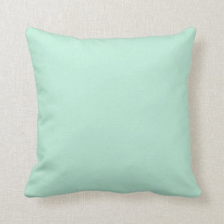 Pastel Turquoise and Mint Green Pillow