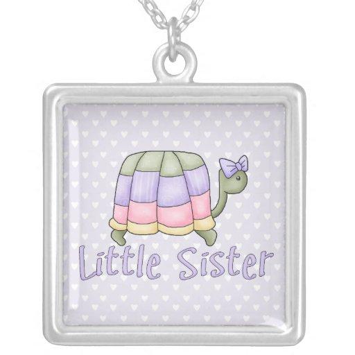 Pastel Turtle Little Sister Necklace
