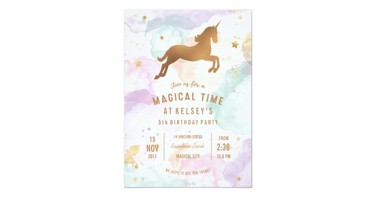 Birthday Party Invitations & Announcements | Zazzle