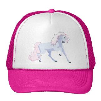 Pastel Unicorn Pink and Blue Trucker Hat