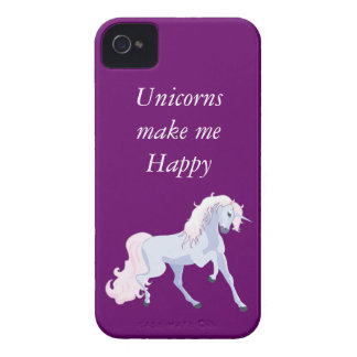 Pastel Unicorn Pink and Blue iPhone 4 Cover