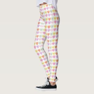 Women S Valentines Day Leggings Zazzle