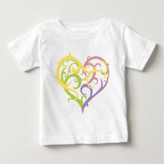 pastel vine tattoo heart baby T-Shirt