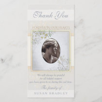 Pastel Vintage Flowers Sympathy Thank you
