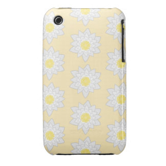 Pastel Water Lilies iPhone 3 Case