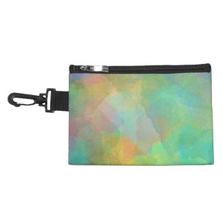 Pastel Watercolors Abstract Art Accessory Bags
