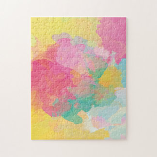 Pastel Watercolors Jigsaw Puzzle