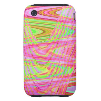 Pastel Waves iPhone 3 Tough Covers