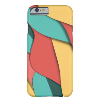 Pastel Wavey Girls Abstract Barely There iPhone 6 Case