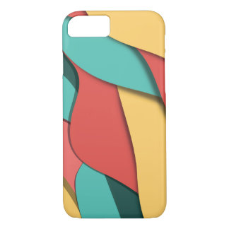 Pastel Wavey Girls Abstract iPhone 8/7 Case