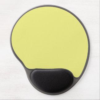 Pastel Yellow Gel Mousepad