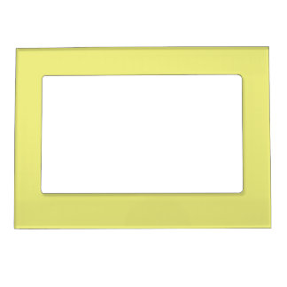 Pastel Yellow Magnetic Picture Frame