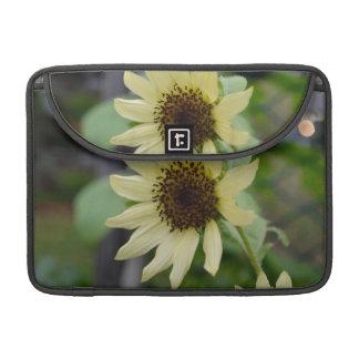 Pastel Yellow Sunflower MacBook Pro Sleeve