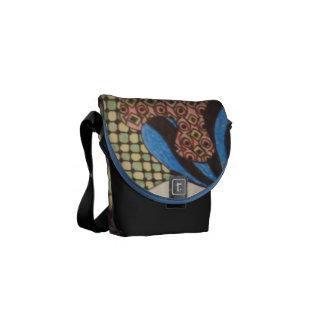 Pastel Zentangle Bag Courier Bag