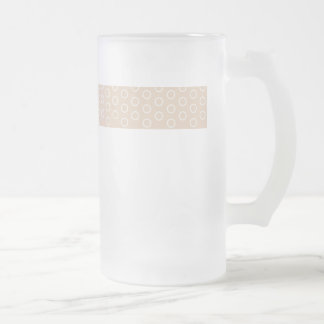 pastele colors dab score polka dots dotted frosted glass beer mug