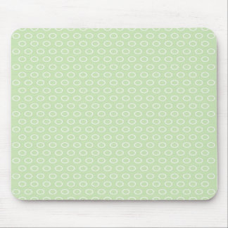 pastele colors dab score polka dots dotted mouse pad