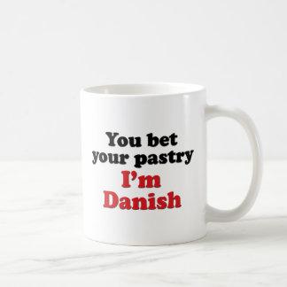 Pasteles daneses 2 taza de café