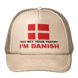 Pasteles daneses gorra
