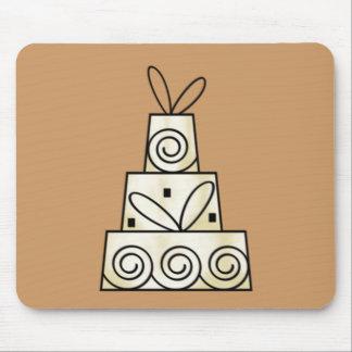 Pasteles de bodas tapete de ratones