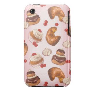 Pasteles de Kawaii iPhone 3 Case-Mate Cárcasas