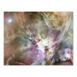 Pasteles de la nebulosa de Orión Invitación 10,8 X 13,9 Cm