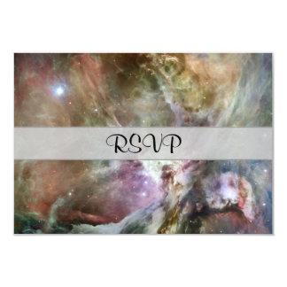"""Pasteles de la nebulosa de Orión Invitación 3.5"""" X 5"""""""