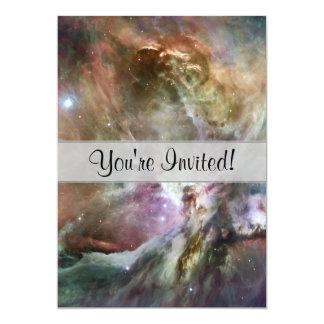 """Pasteles de la nebulosa de Orión Invitación 5"""" X 7"""""""
