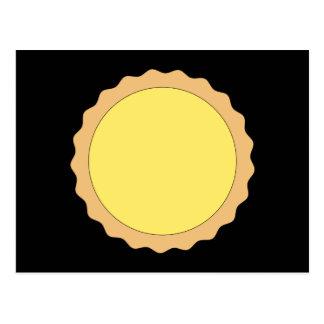 Pasteles de la tarta del limón. Amarillo soleado Postal