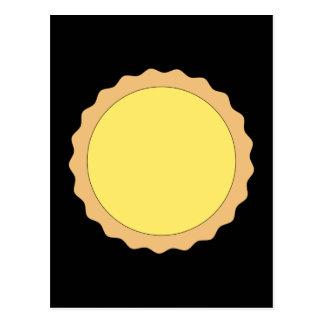 Pasteles de la tarta del limón. Amarillo soleado Tarjeta Postal