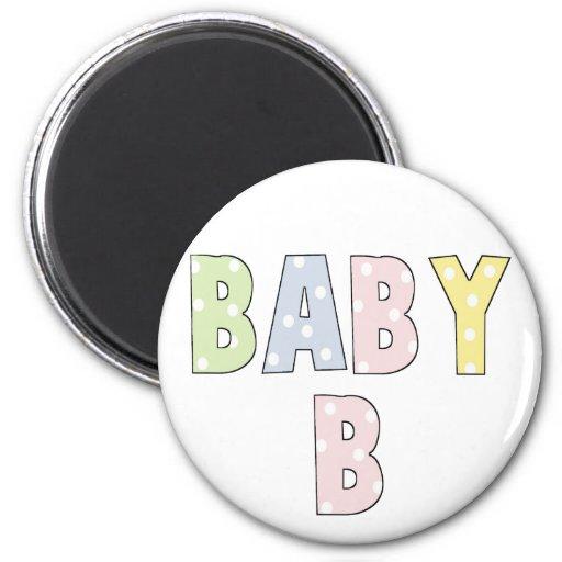 Pasteles del bebé B de los gemelos Iman