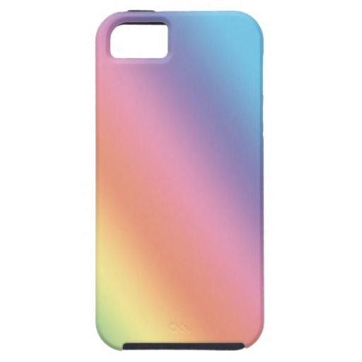 Pasteles del sorbete del arco iris funda para iPhone SE/5/5s