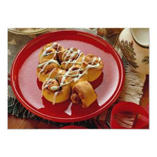 """Pasteles esmaltados día de fiesta delicioso invitación 5"""" x 7"""""""