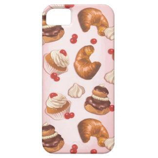 Pasteles franceses de Kawaii iPhone 5 Carcasas