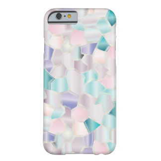 Pasteles iridiscentes del mosaico funda barely there iPhone 6