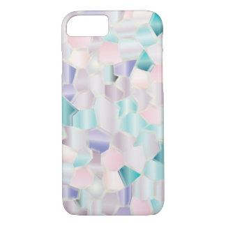 Pasteles iridiscentes del mosaico funda iPhone 7