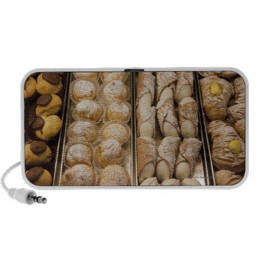 Pasteles italianos altavoz de viaje