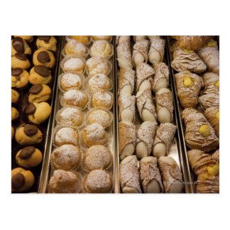 Pasteles italianos tarjeta postal
