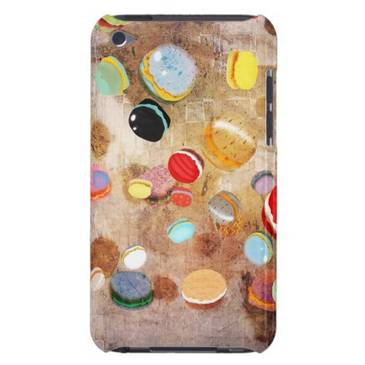 Pasteles Rupydetequila de Macarons París Case-Mate iPod Touch Carcasa