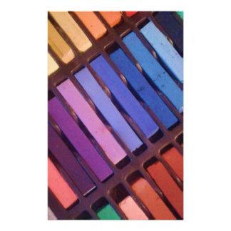 Pasteles suaves de la tiza del artista papelería personalizada