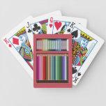 Pasteles y lápices barajas de cartas