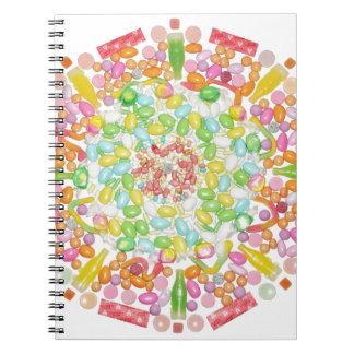 """Pastelicious"" Candala Notebook"