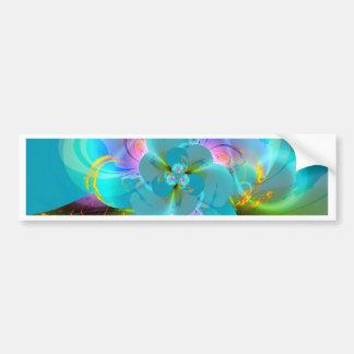 Pastell de la flor de Digitaces creado por Tutti Pegatina Para Auto