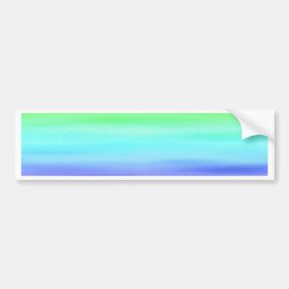 Pastell de la pendiente del color por Tutti Pegatina Para Auto