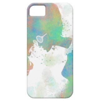 PastellSilhouette-Kasten iPhone 5 Covers