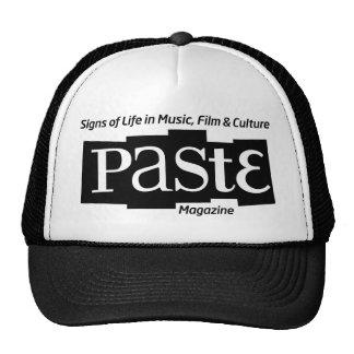 Pastelogobwclr_magandtag (B&W) Mesh Hats