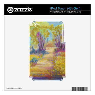 PastelPath.jpg Decals For iPod Touch 4G